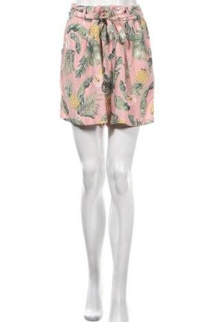 Γυναικείο κοντό παντελόνι Clockhouse, Μέγεθος XL, Χρώμα Πολύχρωμο, Βισκόζη, Τιμή 17,66€