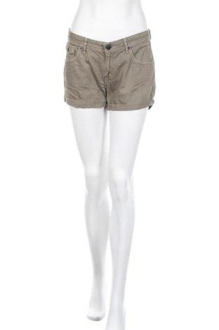Γυναικείο κοντό παντελόνι H&M, Μέγεθος M, Χρώμα Πράσινο, Βαμβάκι, Τιμή 6,23€