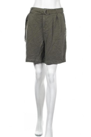 Γυναικείο κοντό παντελόνι H&M L.O.G.G., Μέγεθος M, Χρώμα Πράσινο, 100% βαμβάκι, Τιμή 15,20€