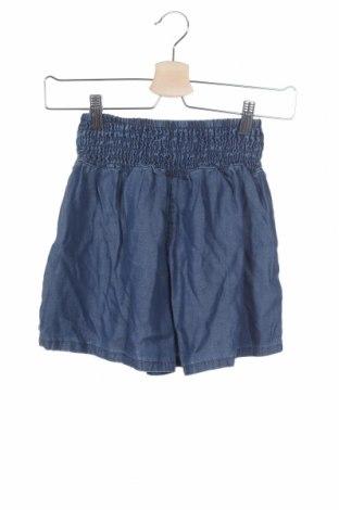 Γυναικείο κοντό παντελόνι Mango, Μέγεθος S, Χρώμα Μπλέ, Lyocell, Τιμή 12,57€
