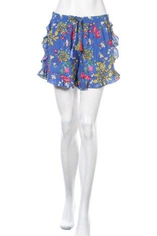Γυναικείο κοντό παντελόνι Mango, Μέγεθος M, Χρώμα Μπλέ, Βισκόζη, Τιμή 11,86€