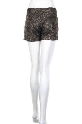 Γυναικείο κοντό παντελόνι Mango, Μέγεθος S, Χρώμα Χρυσαφί, Πολυεστέρας, Τιμή 12,47€