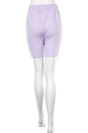 Γυναικείο κοντό παντελόνι Missguided, Μέγεθος S, Χρώμα Βιολετί, 55% πολυεστέρας, 45% βαμβάκι, Τιμή 7,37€
