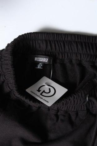 Γυναικείο κοντό παντελόνι Missguided, Μέγεθος S, Χρώμα Μαύρο, 55% πολυεστέρας, 45% βαμβάκι, Τιμή 9,64€