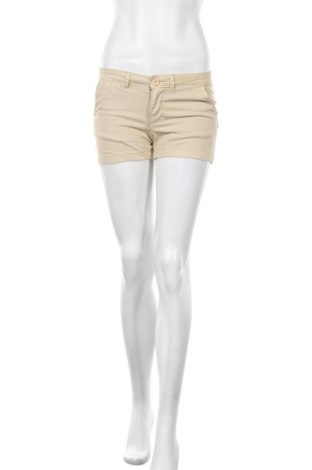 Дамски къс панталон Mohito, Размер S, Цвят Бежов, 98% памук, 2% еластан, Цена 9,18лв.