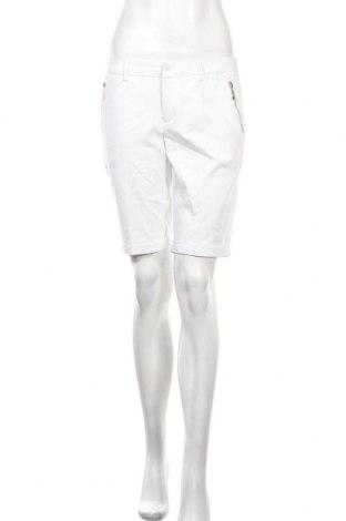 Дамски къс панталон Mohito, Размер S, Цвят Бял, 50% памук, 46% полиамид, 4% еластан, Цена 13,60лв.