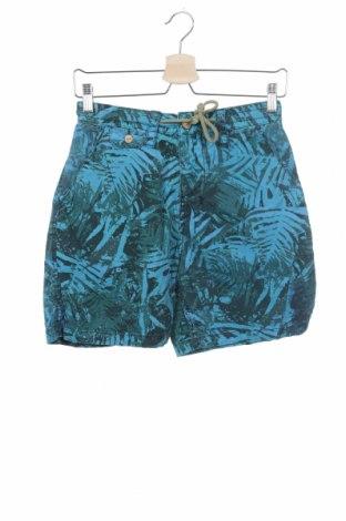 Γυναικείο κοντό παντελόνι Pull&Bear, Μέγεθος XS, Χρώμα Μπλέ, Βαμβάκι, Τιμή 7,43€