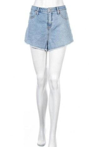 Γυναικείο κοντό παντελόνι Wild Fable, Μέγεθος L, Χρώμα Μπλέ, 98% βαμβάκι, 2% ελαστάνη, Τιμή 11,69€
