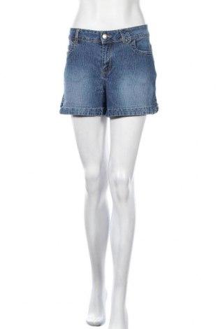 Дамски къс панталон X-Mail, Размер XL, Цвят Син, 80% памук, 18% полиестер, 2% еластан, Цена 11,81лв.