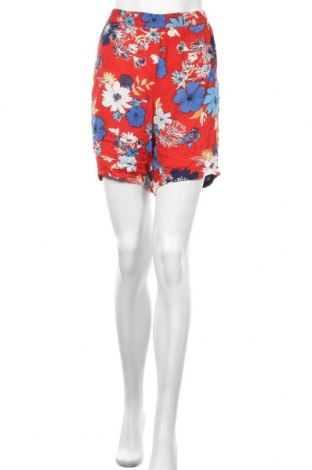 Дамски къс панталон Zhenzi, Размер L, Цвят Многоцветен, Вискоза, Цена 17,64лв.