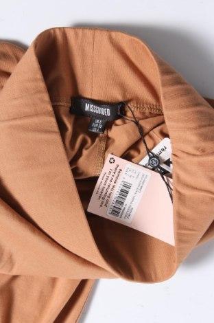 Дамски клин Missguided, Размер S, Цвят Кафяв, 50% полиестер, 47% памук, 3% еластан, Цена 17,00лв.