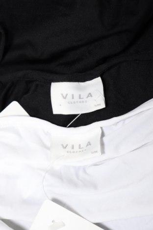 Дамски комплект Vila, Размер S, Цвят Черен, 90% полиамид, 10% еластан, Цена 20,35лв.