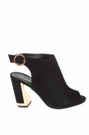 Γυναικεία παπούτσια Boohoo, Μέγεθος 37, Χρώμα Μαύρο, Κλωστοϋφαντουργικά προϊόντα, Τιμή 18,25€