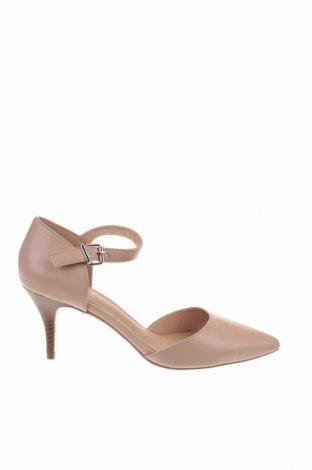 Γυναικεία παπούτσια Linea, Μέγεθος 41, Χρώμα  Μπέζ, Δερματίνη, Τιμή 22,81€