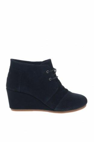 Γυναικεία παπούτσια Toms, Μέγεθος 41, Χρώμα Μπλέ, Φυσικό σουέτ, Τιμή 36,57€
