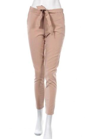 Дамски панталон, Размер M, Цвят Бежов, 92% полиестер, 8% еластан, Цена 11,34лв.