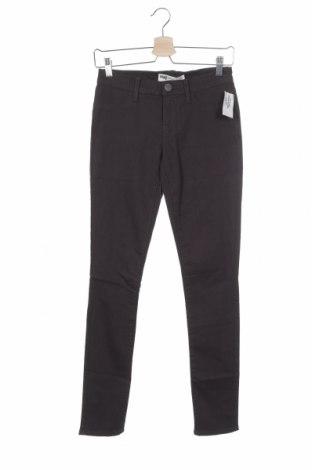 Дамски панталон, Размер S, Цвят Сив, 58% памук, 27% полиестер, 14% вискоза, 1% еластан, Цена 10,14лв.