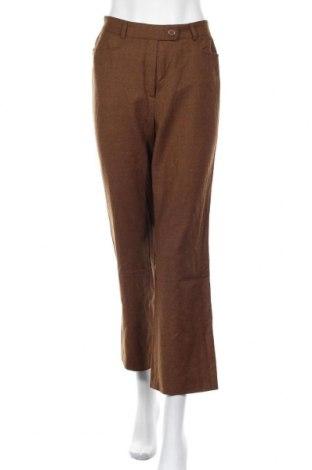 Γυναικείο παντελόνι Basler, Μέγεθος M, Χρώμα Καφέ, Μαλλί, Τιμή 13,77€