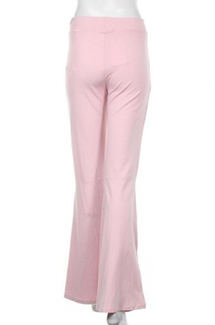 Дамски панталон Bershka, Размер L, Цвят Розов, 68% вискоза, 26% полиамид, 6% еластан, Цена 15,20лв.