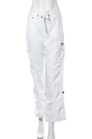 Дамски панталон Boule..., Размер M, Цвят Бял, Памук, Цена 6,30лв.