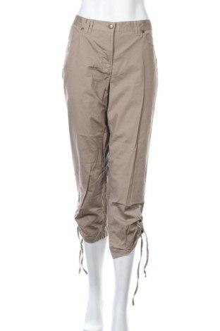 Дамски панталон Bpc Bonprix Collection, Размер M, Цвят Бежов, 97% памук, 3% еластан, Цена 5,51лв.