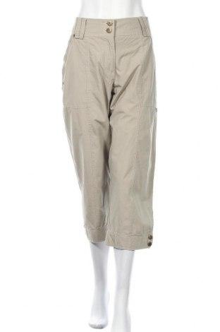 Дамски панталон C.Ro, Размер XL, Цвят Бежов, Памук, Цена 6,80лв.