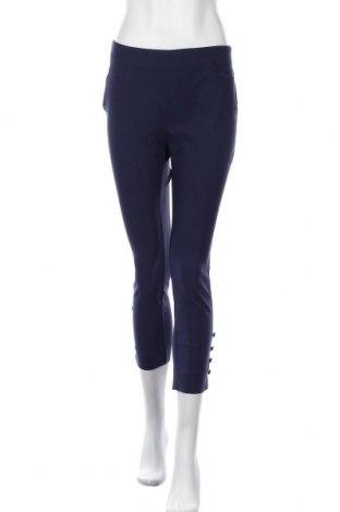 Дамски панталон Chico's, Размер S, Цвят Син, 76% вискоза, 21% полиамид, 3% еластан, Цена 17,64лв.