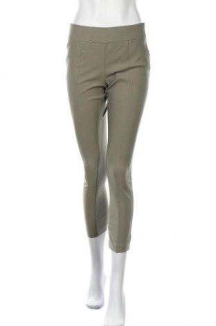 Дамски панталон Chico's, Размер S, Цвят Зелен, 76% вискоза, 21% полиамид, 3% еластан, Цена 30,24лв.