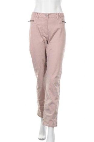 Дамски панталон Fabiani, Размер XL, Цвят Пепел от рози, 98% памук, 2% еластан, Цена 13,65лв.