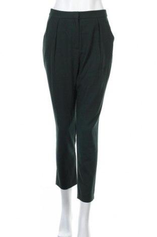 Дамски панталон Forever 21, Размер S, Цвят Зелен, Полиестер, Цена 9,56лв.