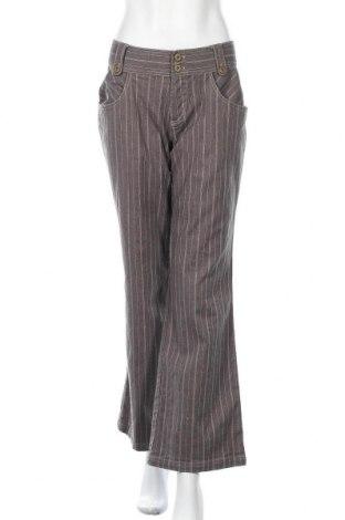 Дамски панталон Friendtex, Размер M, Цвят Сив, 96% памук, 4% еластан, Цена 10,10лв.
