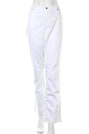 Дамски панталон Gant, Размер XL, Цвят Бял, 97% памук, 3% еластан, Цена 22,52лв.