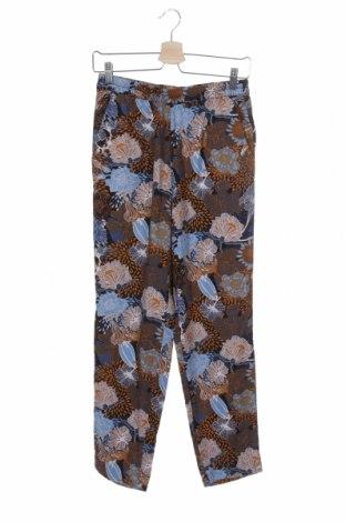 Дамски панталон H&M, Размер XS, Цвят Многоцветен, Вискоза, Цена 13,50лв.