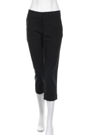 Дамски панталон H&M, Размер M, Цвят Черен, 50% полиестер, 48% вискоза, 2% еластан, Цена 12,60лв.