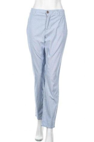 Дамски панталон H&M L.O.G.G., Размер XL, Цвят Син, 97% памук, 3% еластан, Цена 19,11лв.