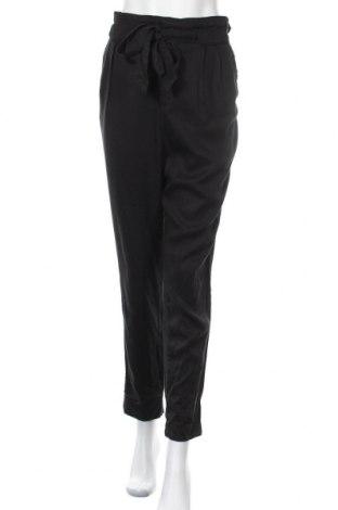 Дамски панталон H&M L.O.G.G., Размер M, Цвят Черен, Лиосел, Цена 25,73лв.