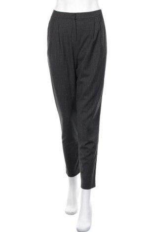 Дамски панталон Hallhuber, Размер S, Цвят Сив, 64% полиестер, 34% вискоза, 2% еластан, Цена 14,62лв.