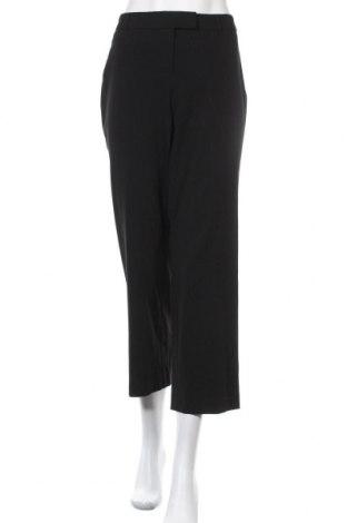 Дамски панталон Jm Collection, Размер M, Цвят Черен, 63% полиестер, 33% вискоза, 4% еластан, Цена 8,74лв.