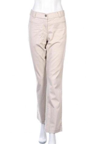 Дамски панталон Loft By Ann Taylor, Размер L, Цвят Бежов, 97% памук, 3% еластан, Цена 10,14лв.