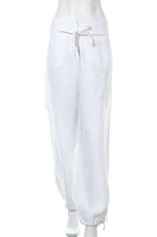 Γυναικείο παντελόνι Mills Women, Μέγεθος XXL, Χρώμα Λευκό, Λινό, Τιμή 16,62€