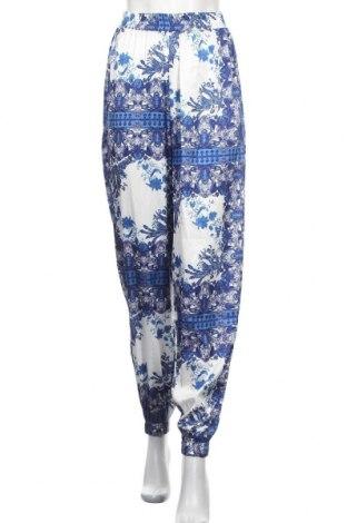 Дамски панталон Missguided, Размер S, Цвят Син, Полиестер, Цена 20,80лв.
