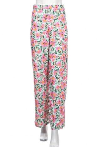 Дамски панталон Missguided, Размер S, Цвят Многоцветен, 95% полиестер, 5% еластан, Цена 23,40лв.