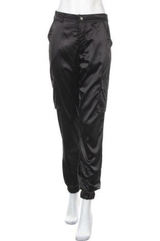 Дамски панталон Missguided, Размер S, Цвят Черен, 92% полиестер, 8% еластан, Цена 26,00лв.