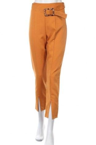 Γυναικείο παντελόνι Missguided, Μέγεθος S, Χρώμα Πορτοκαλί, 90% πολυεστέρας, 10% ελαστάνη, Τιμή 16,88€