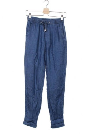 Γυναικείο παντελόνι Mohito, Μέγεθος XS, Χρώμα Μπλέ, Lyocell, Τιμή 13,40€