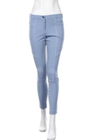 Γυναικείο παντελόνι Mohito, Μέγεθος M, Χρώμα Μπλέ, 62% πολυεστέρας, 33% βισκόζη, 5% ελαστάνη, Τιμή 14,60€