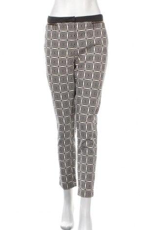 Дамски панталон Monnari, Размер M, Цвят Екрю, 55% памук, 42% полиестер, 3% еластан, Цена 22,68лв.
