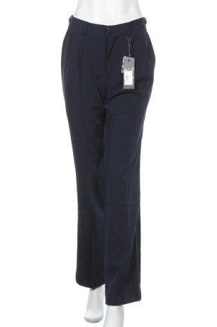 Дамски панталон Piazza Italia, Размер L, Цвят Син, 94% полиестер, 6% еластан, Цена 15,96лв.