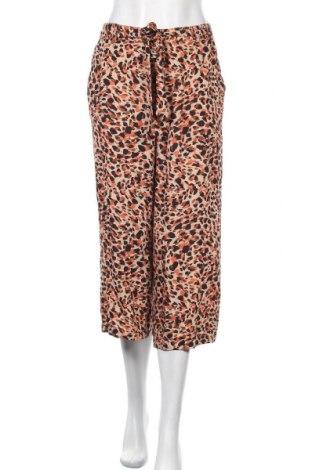 Дамски панталон Pieces, Размер M, Цвят Многоцветен, 100% вискоза, Цена 24,15лв.