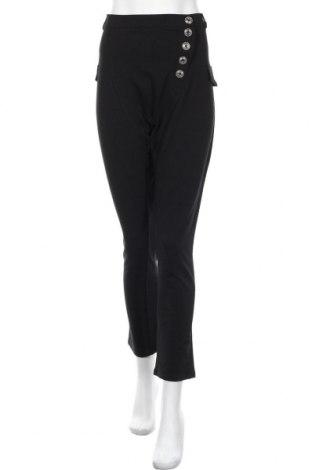 Дамски панталон Rainbow, Размер M, Цвят Черен, 95% памук, 5% еластан, Цена 19,50лв.